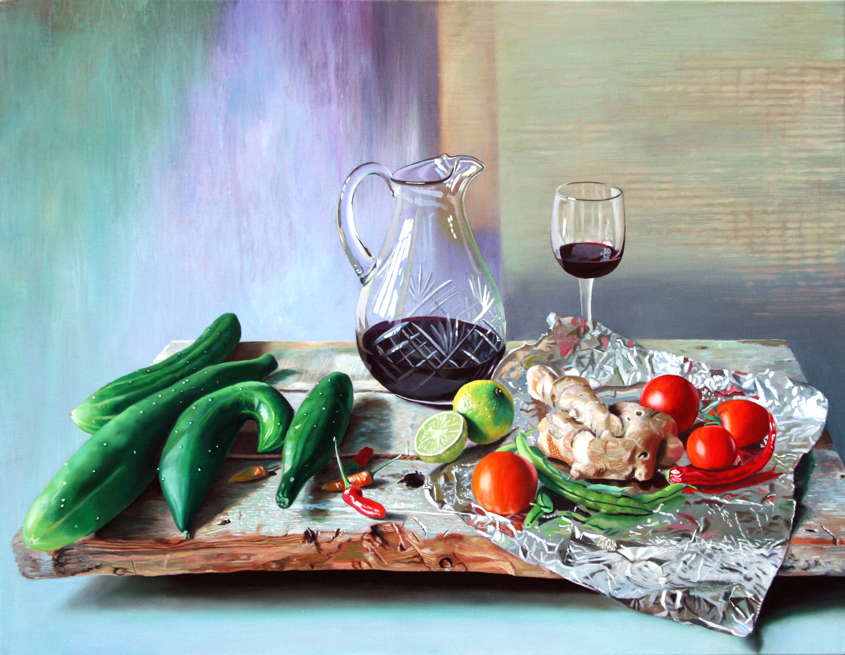 4 Cucumbers and Wine